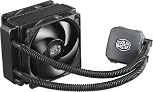 Cooler Master Nepton 120XL CPU Water Cooling System, All-In-One Kit with 120mm Radiator and 2 Silencio Fans RL-N12X-24PK-R1