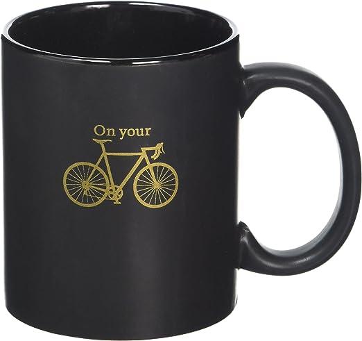 Robert Frederick diseño Negro Taza en Caja – en tu Bicicleta: Amazon.es: Hogar