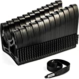 Camco 30ft Sidewinder RV Sewer Hose Support, Made From Sturdy Lightweight Plastic, Won't Creep Closed, Holds Hoses In Place - No Need For Straps