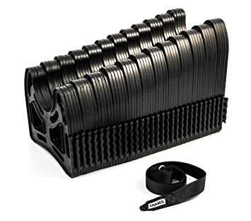 Camco 30ft Sidewinder RV Sewer Hose Support Made From Sturdy Lightweight Plastic Won