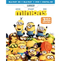 Minions on Blu-Ray + DVD + Digital HD