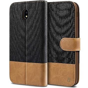 BEZ Funda Samsung J7 2017, Carcasa para Samsung Galaxy J7 2017 Libro de Cuero con Tapas y Cartera, Cover Protectora con Ranura para Tarjetas y ...