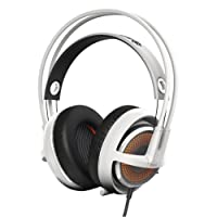 SteelSeries Siberia 350 Gaming Headset (DTS 7.1 Surround-Sound, RGB-Beleuchtung) weiß