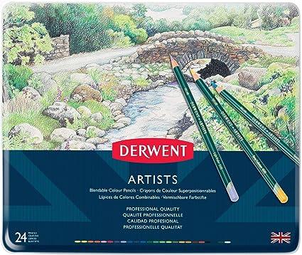 confezione da 12 Derwent Artists matite