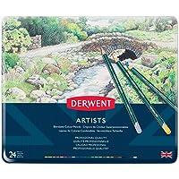 DERWENT(R) R32083 ARTISTS PENCILS, TIN 24