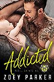 Addicted: A Secret Baby Romance (Rebel Saints MC)