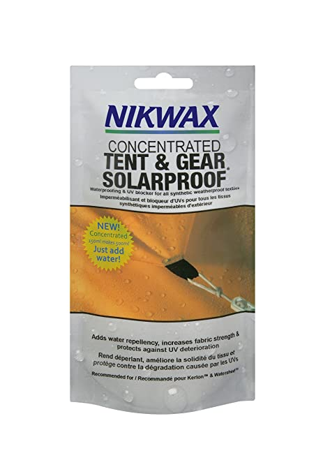 1ac5a52d7f56 Amazon.com   Nikwax Concentrated Tent   Gear Solar Proof Waterproofing    Tent Stakes   Sports   Outdoors