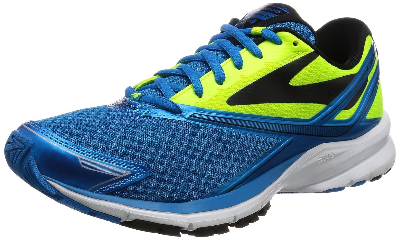 Brooks Launch 4, Zapatos para Correr para Hombre 46.5 EU Azul (Methyl Blue/Nightlife/Black)