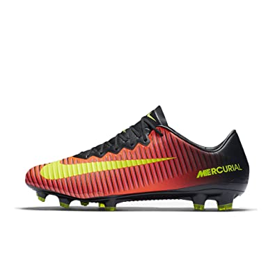 Nike Mercurial Vapor XI Firm-Ground Men's Football Boots Red/Black pZ6048K