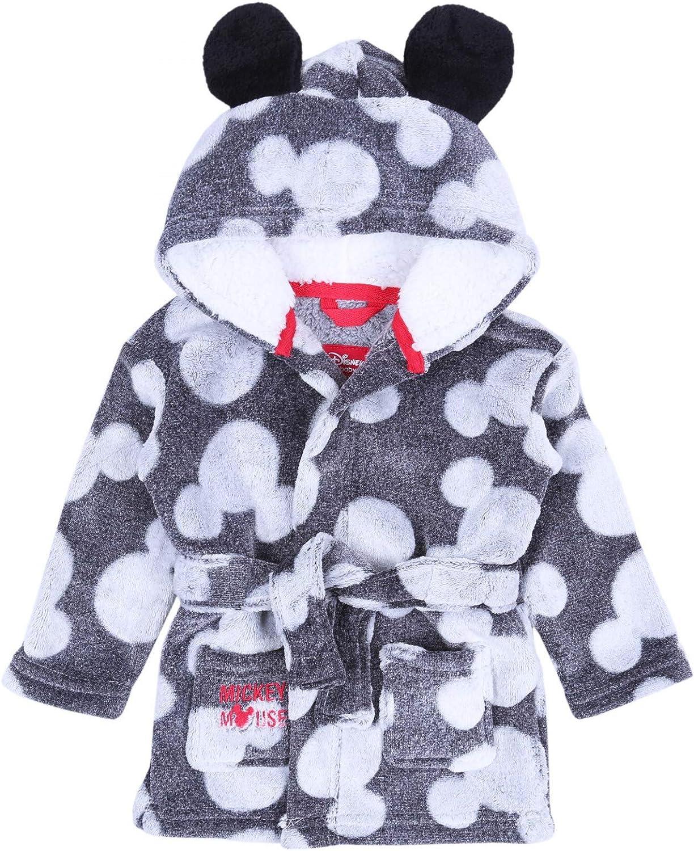 White//Grey Pyjama Bathrobe Set for Boys Mickey Mouse Disney