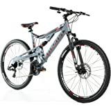 Moma Bikes Btt Shimano 2 Sus Bicicleta, Unisex Adulto