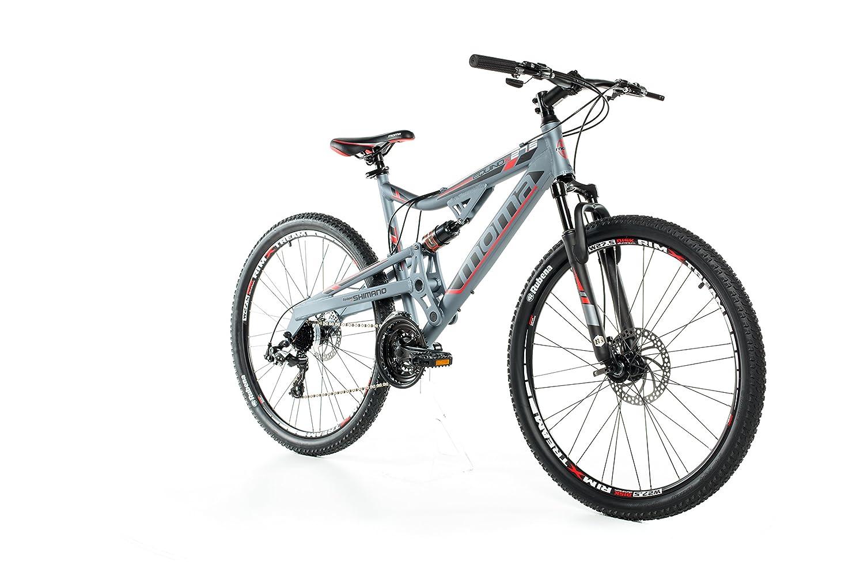 Aluminio Doble Suspensi/ón 1.65-1.79 m Bicicleta Monta/ña 27.5 M-L Moma Bikes MTB Equinox Shimano Profesional Doble Freno Disco Cambio TX-55 24 vel.