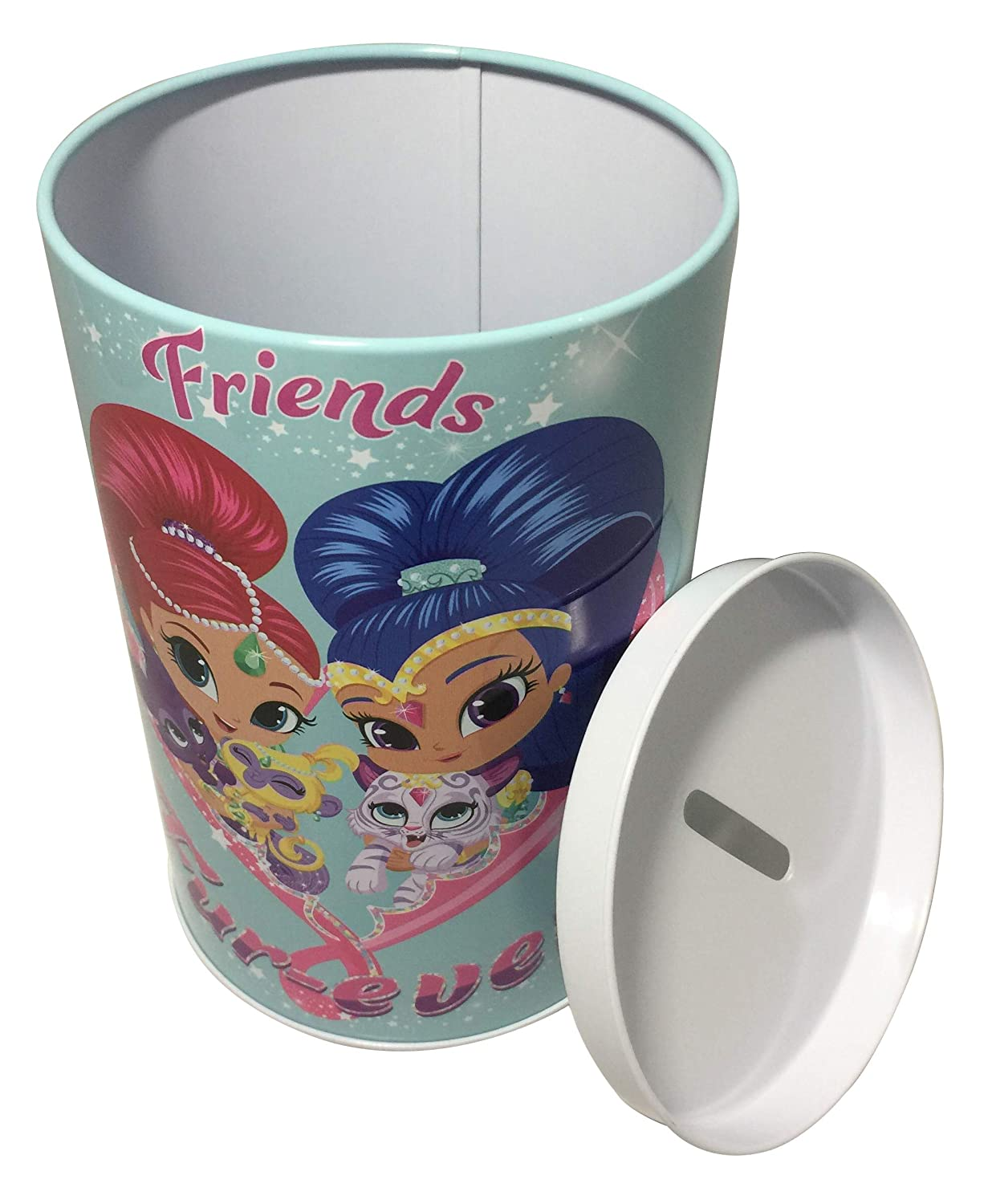 Shimmer and Shine Tin Coin Friends Forever Money Bank
