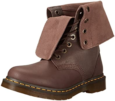 e9d6859d6785 Dr. Martens Women s Hazil Motorcycle Boot Dark Brown 3 UK 5 ...
