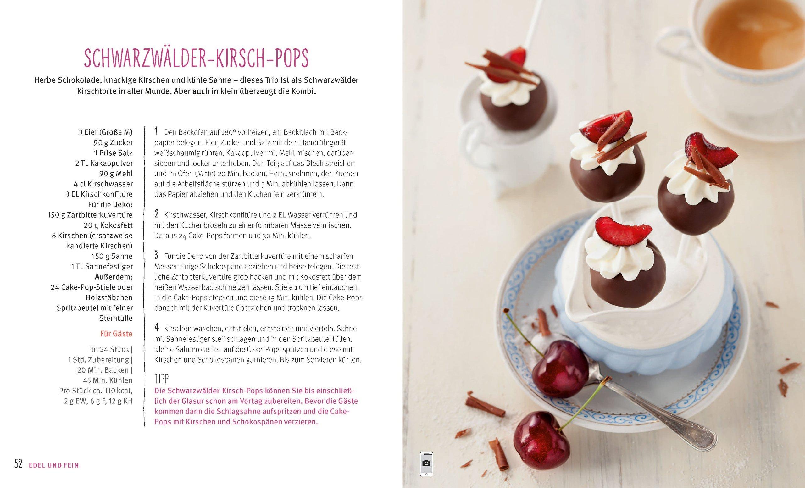 GU Gräfe und Unzer KüchenRatgeber Cake Pop Set Silikonbackform