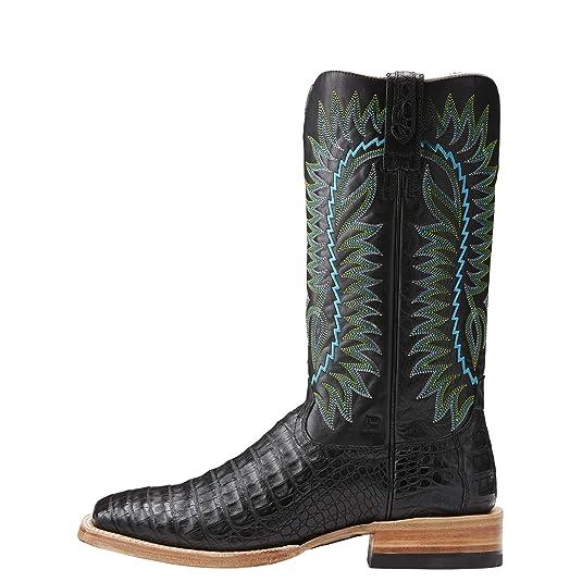 f0482cd5d32 ARIAT Men's Relentless Gold Buckle Western Boot