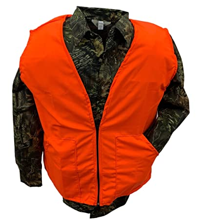 fd69310ea5b6f Amazon.com : Clarkfield Outdoors Big & Tall Blaze Orange Hunting Vest :  Sports & Outdoors