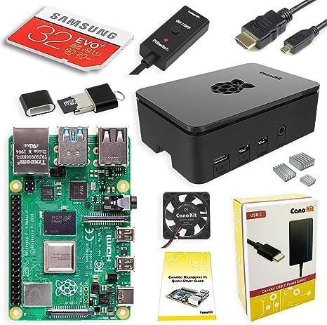 CanaKit Raspberry Pi 4 4GB Starter PRO Kit