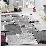 Traum Tappeto Designer Tappeto moderno aspetto tappeto da salotto in pietra  di colore grigio nero Größe ... b2023077a183