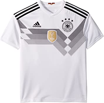 adidas Kids Boy s 2018 Germany Home Jersey (Little Kids Big Kids) White  96d94d5af
