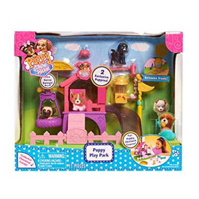 Puppy In My Pocket Just Play Dog Park Playset: Toys & Games