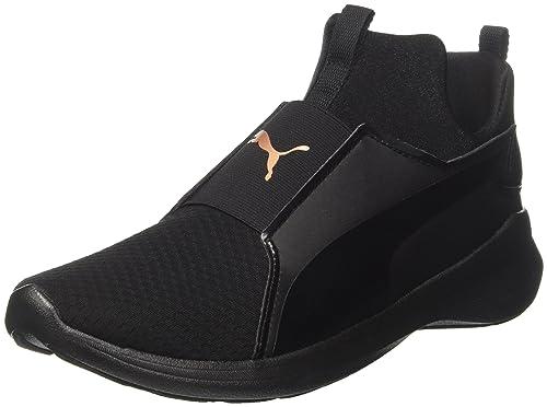 Puma Dare, Zapatillas Unisex Adulto, Negro (Puma Black-Puma Black), 37 EU