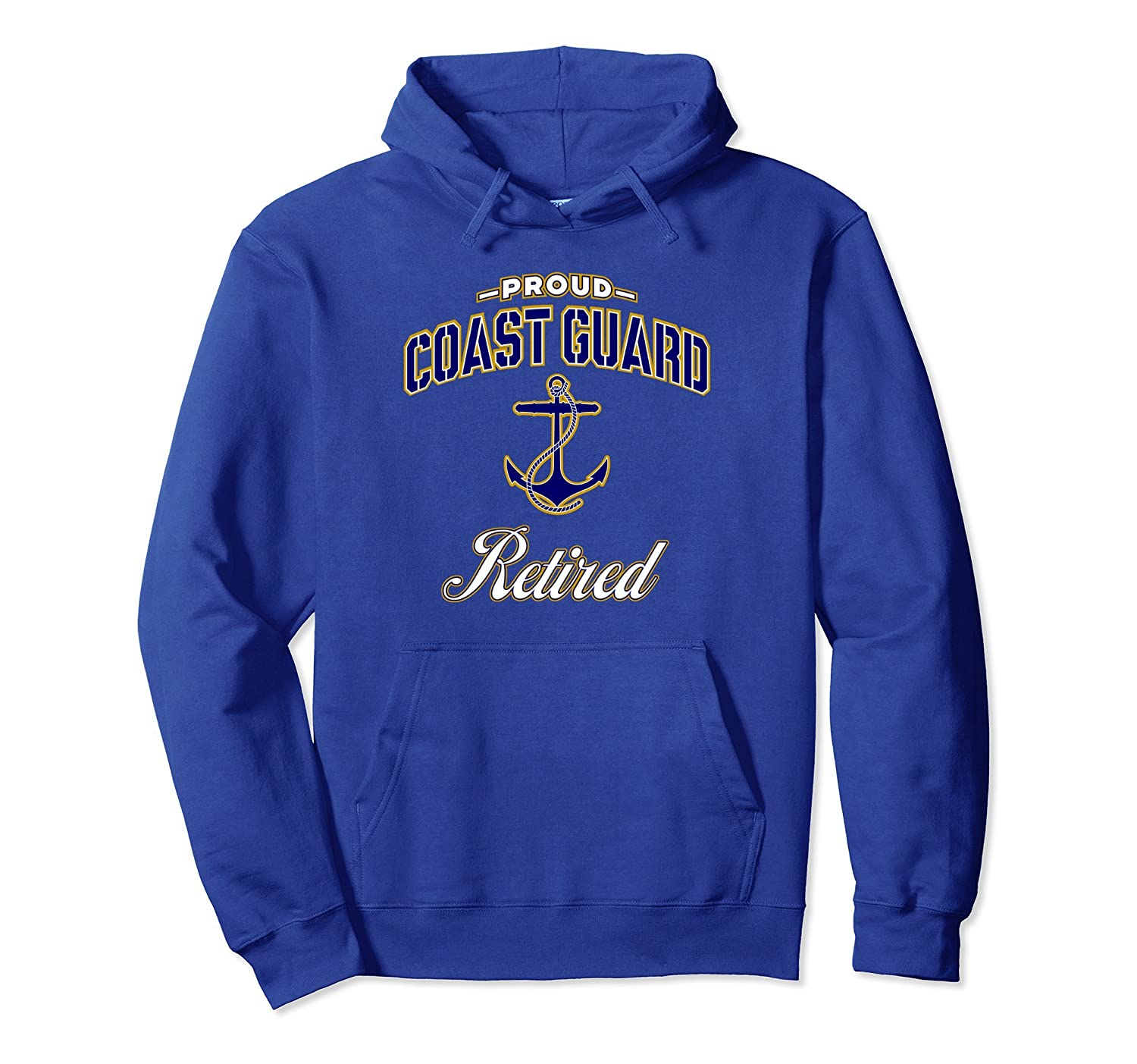 Coast Guard Retired Hoodie for Men and Women-alottee gift