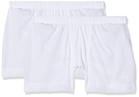 4df5336b1f0fb8 Odlo Herren Suw Bottom Boxer Active Cubic Light 2 Pack Unterhose ...