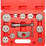 NEIKO 20733A Complete Disc Brake Caliper Wind Back Tool Kit | 12 Piece | Brake Pad Repair for Automotive | Fits All…