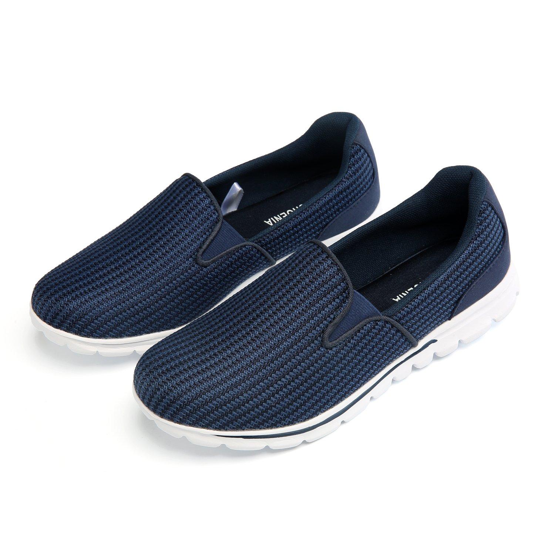 ウォーキング パフォーマンス シューズ 軽量 クッション性 カジュアル 通勤 通学 散歩 トラベル レディース 靴 B07C3SKXTJ 8.5 B(M) US Blue4 Blue4 8.5 B(M) US