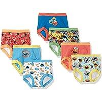 Sesame Street Boys' Toddler Friends 7-Pack Training Pants 2T, 3T,