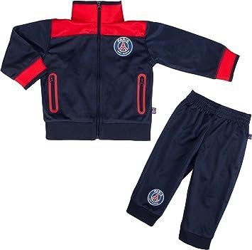 Paris Saint-Germain: chándal PSG, colección oficial del club de fútbol Paris Saint-Germain, talla bebé, Bebé niño, azul, 3 meses: Amazon.es: Deportes y aire libre