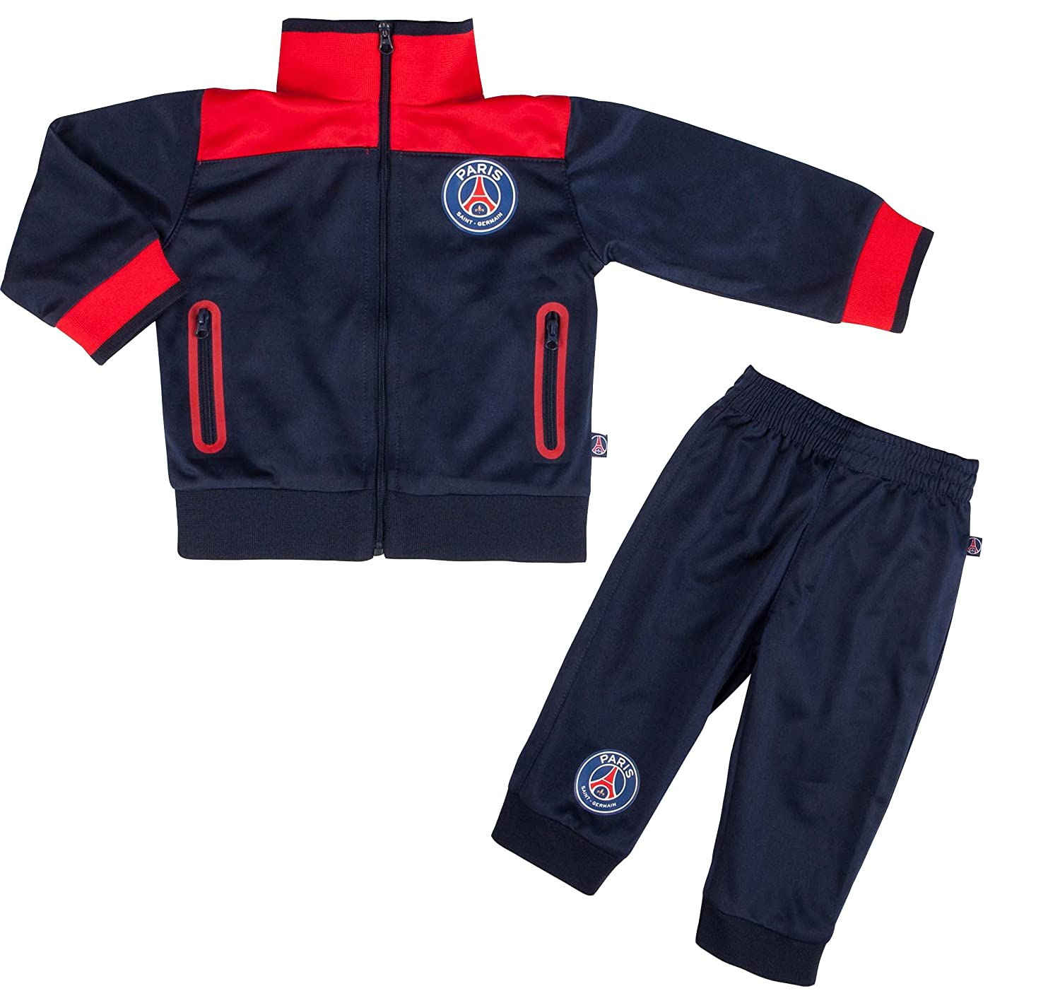 Survêtement PSG - Collection officielle Paris Saint Germain - Taille bébé  garçon Paris Saint-Germain 83b6a7b748e