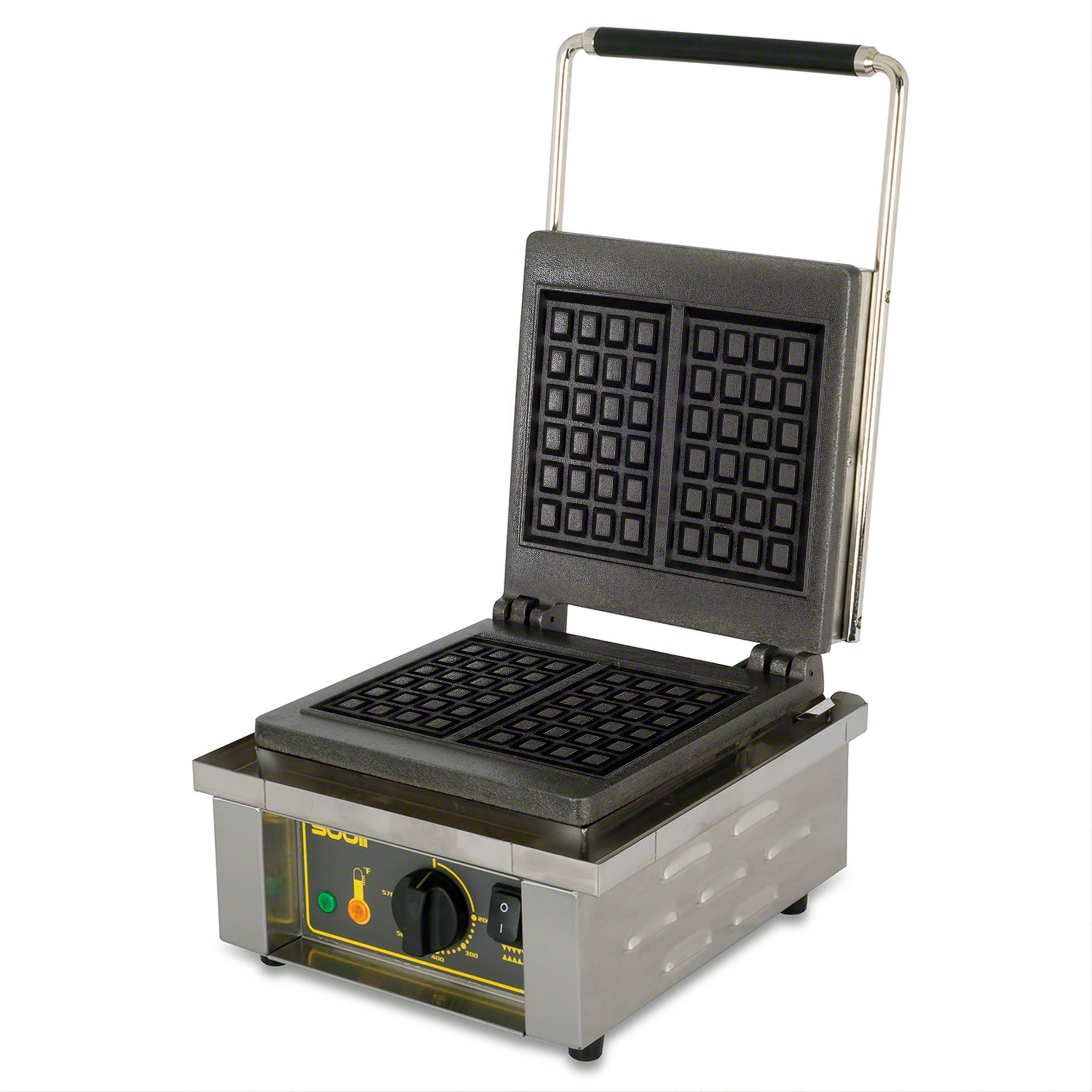 Equipex (GES20) - 55 Waffle/Hr Single Liege Waffle Baker