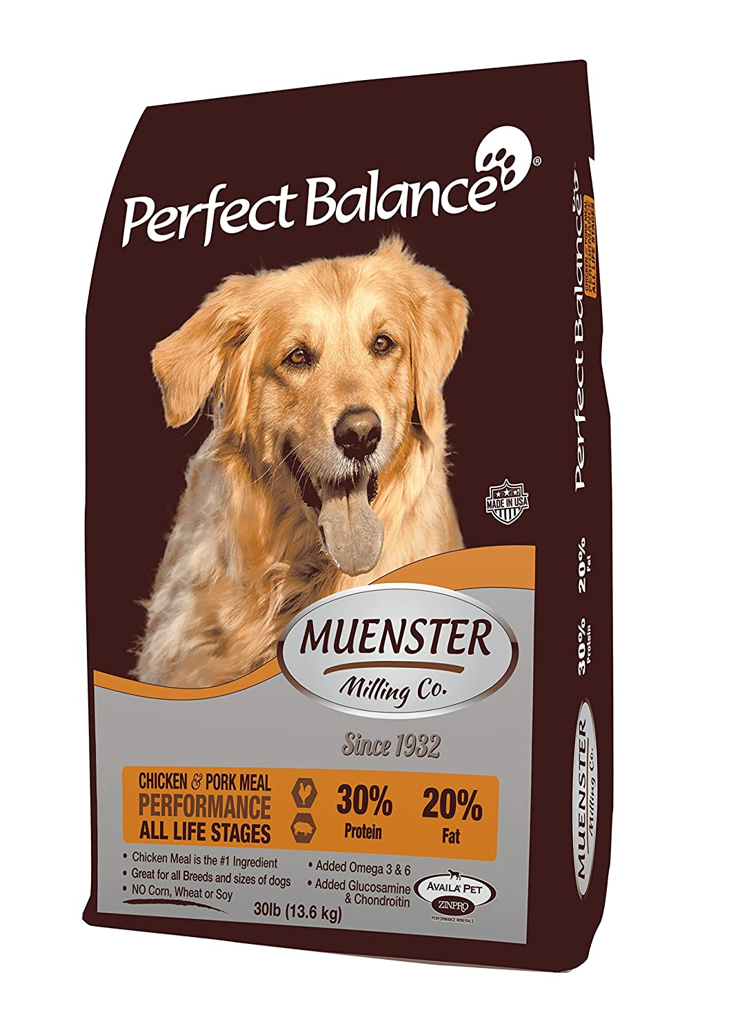 Muenster Milling Co. Perfect Balance Performance Dog Food