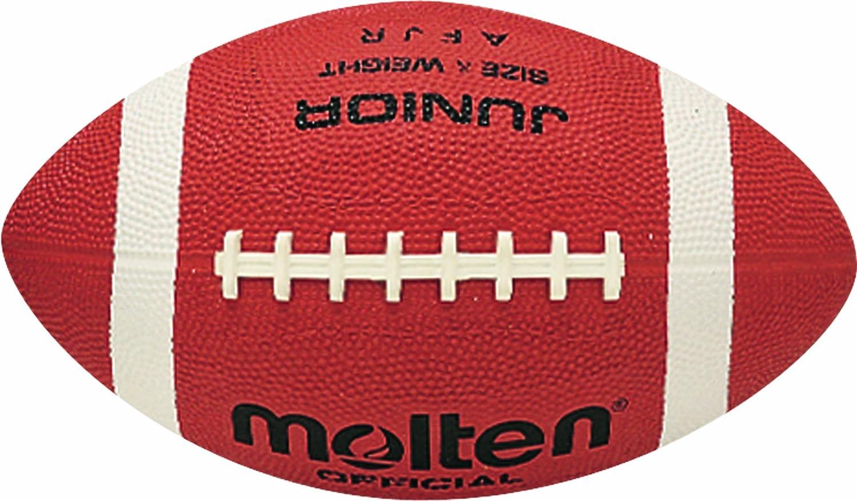 Molten Kinder Football American AFR Junior, Brau, One Size, D0109