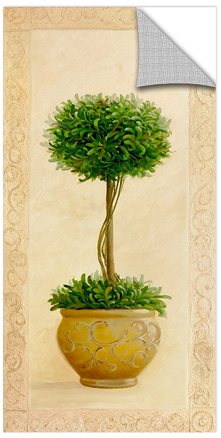 Welby Topiary Ball I Gallery Wrapped Canvas 12X24
