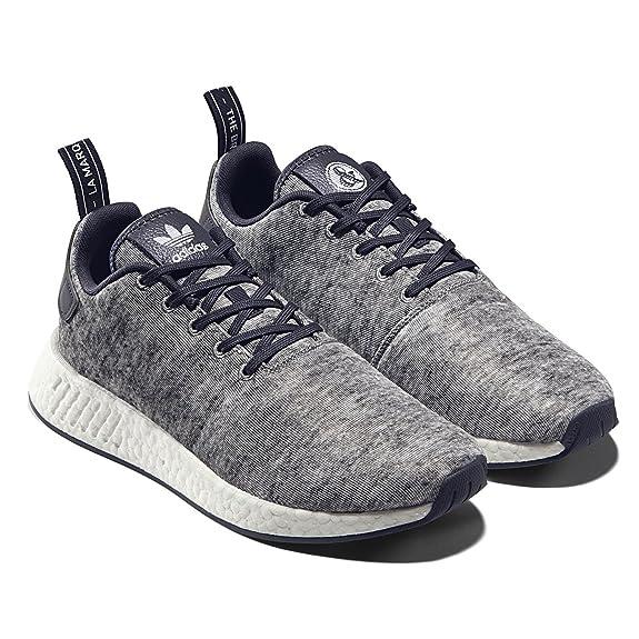 new arrival f532a 282d5 Amazon.com  adidas Mens NMD R2 UAS Core Heather DA8834  Fashion Sneakers