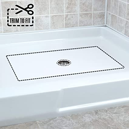No Suction Cup Bath White The Original Refinished Bathtub Mat