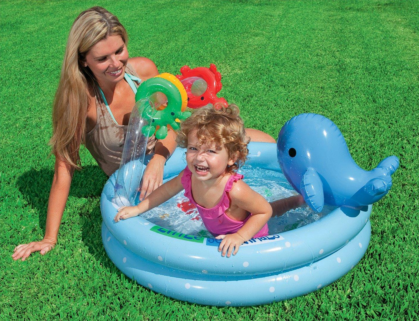 INTEX Babypool Delphin Planschbecken Pool Schwimmbecken Becken Baby Kinder