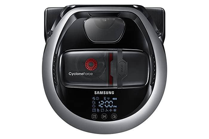 Samsung POWERbot R7070 Pet Robot Vacuum, Self-cleaning Brush for Pet Hair, Intelligent Mapping, Ideal for Carpets & Hard Floors, Works with Amazon Alexa and the Google Assistant