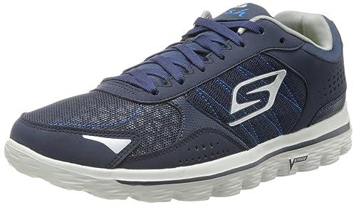 SkechersGo Walk 2 - Flash - Zapatos Fitness para Hombre, Azul ...
