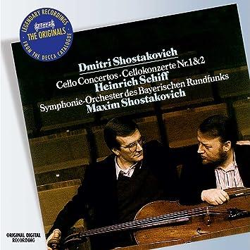 Shostakovich: Cello Concertos / Cellokonzerte Nr  1 & 2