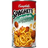 SpaghettiOs Pasta, Meatballs, 22.2 Ounce (Pack of 12)