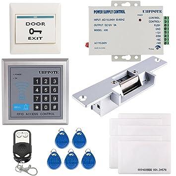 UHPPOTE Completo Kit De Sistema Teclado De Control De Acceso Para Una Puerta 125KHz EM-
