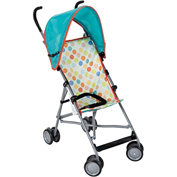 Cosco Umbrella Stroller with Canopy Dots  sc 1 st  Amazon.com & Amazon.com : Cosco Umbrella Stroller with Canopy Dots : Baby