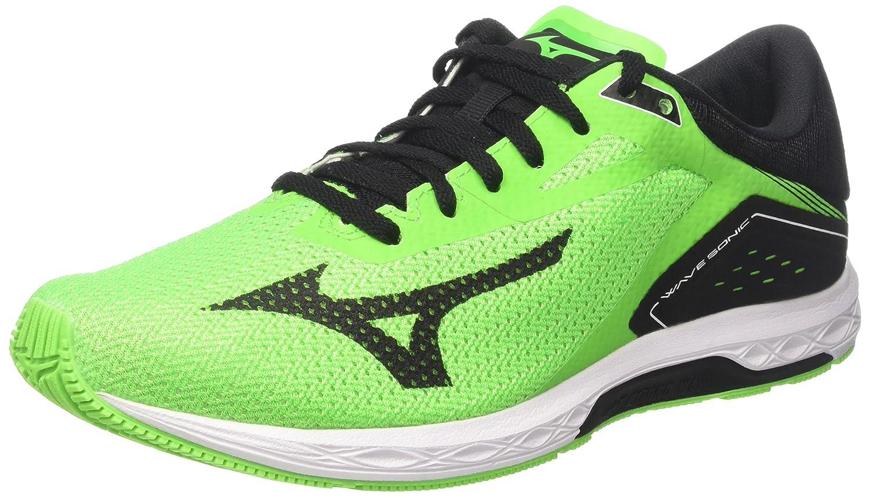 Mens Wave Sonic Gymnastics Shoes, Green Mizuno