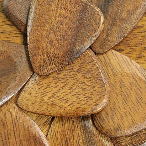 Tonos de madera Jatoba de púas para guitarra individual: Amazon.es ...