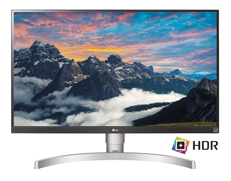 Das ist ein Bild des LG 27UK650-W Monitors