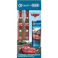 Oral-B and Crest Kid's Pack Toothpaste, Disney & Pixar's Cars